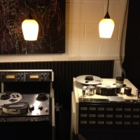 Tape Machines (Ampex ATR800, Otari MX-80)